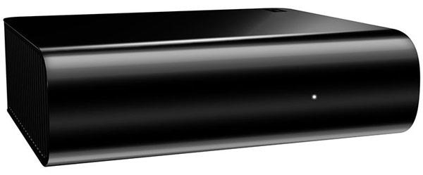 Внешний накопитель WD MyBook AV-TV оснащен портами USB 3.0 и eSATA