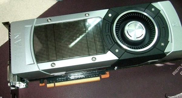 3D-карта NVIDIA GeForce GTX Titan