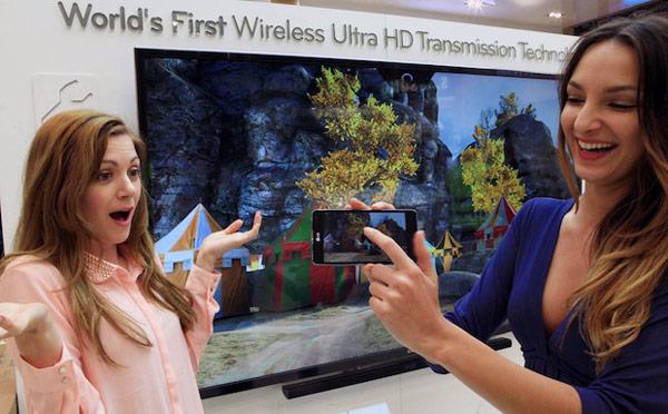 Местом демонстрации технологии беспроводной передачи видео формата Ultra HD компания LG выбрала выставку MWC 2013