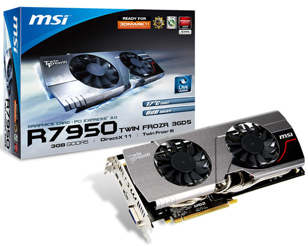 ���������, ��� 3D-����� MSI R7950 Twin Frozr Boost Edition ����� ������ $330