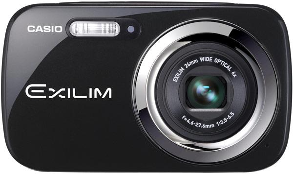 ������� ����� Casio Exilim EX-N5 � EX-N50 ������ ������ ����������� ���� CCD ������� 1/2,3 �����