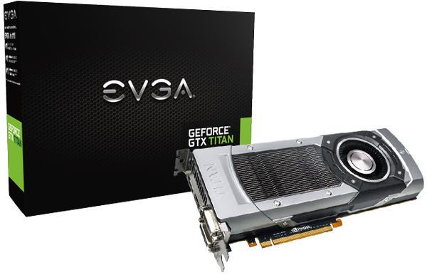 EVGA готовит к выпуску четыре разогнанных варианта 3D-карты GeForce GTX Titan