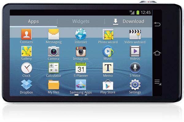 Данных о цене и дате начала продаж Samsung Galaxy Camera (Wi-Fi) пока нет