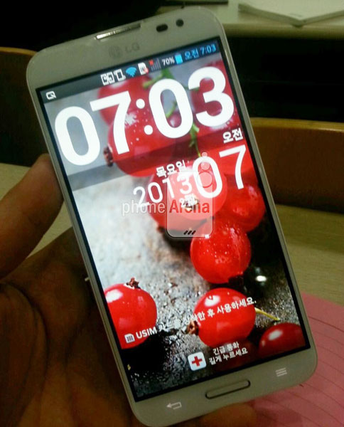 LG Optimus G Pro с экраном диагональю 5,5 дюйма