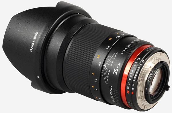 Выход объектива Samyang с фокусным расстоянием 50 мм и максимальной диафрагмой F/1,2 ожидается в будущем году