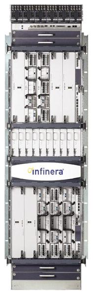 Сетевая платформа Infinera DTN-X основана на фотонных интегральных схемах с пропускной способностью 500 Гбит/с