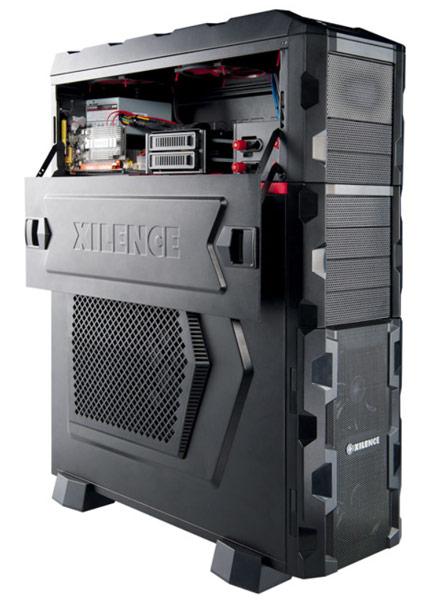 Новые боковые панели для корпусов Xilence серии Interceptor позволяют видеть внутренности ПК