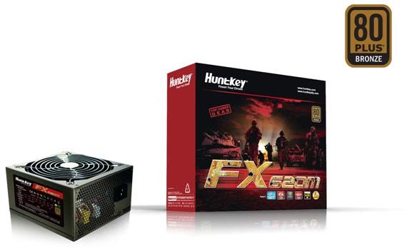 Huntkey открывает серию блоков питания FX моделями FX500SE и FX620M