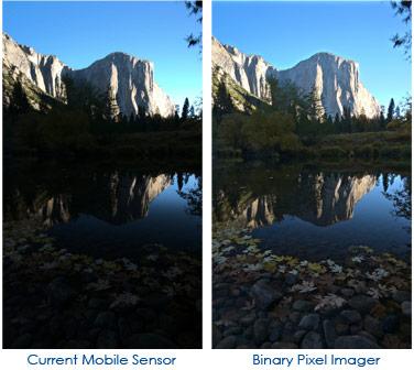 Технология Rambus Binary Pixel позволяет получать изображения с расширенным динамическим диапазоном из одного снимка