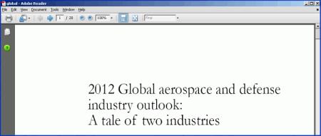 Пользователю открывается «чистый» PDF-файл