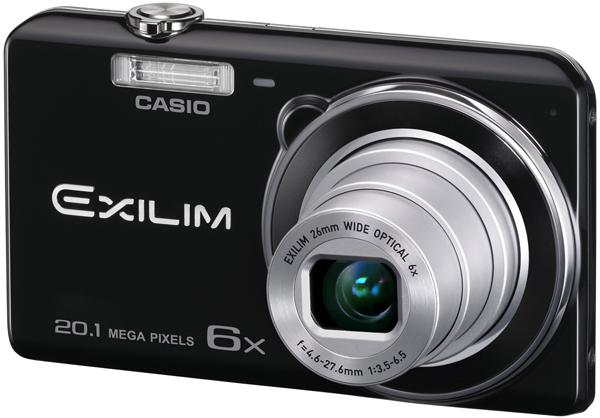 На корпусе камеры Casio Exilim EX-ZS30 есть три главные кнопки: Shoot, View и Delete