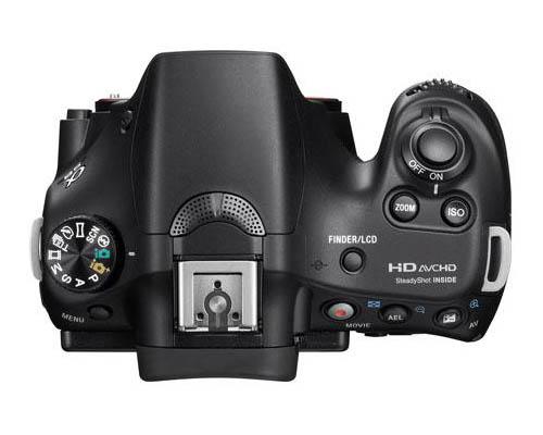 Появились первые изображения камеры Sony α58 (SLT-A58)
