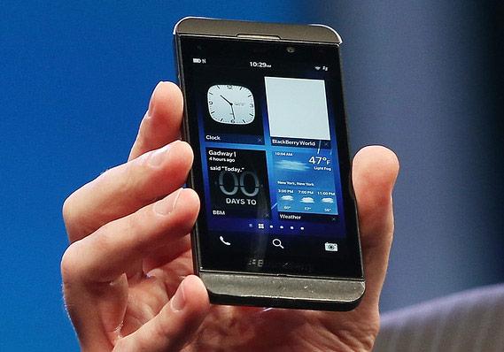 ����� ����������� BlackBerry Z10 ����� ���, ��� ������� ������� ��������� BlackBerry