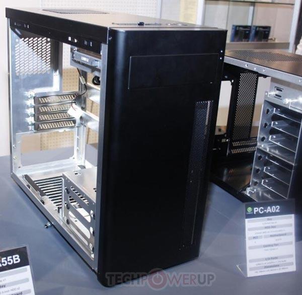 �������� ������� Lian Li PC-A02 ����� 188 x 460 x 386 ��