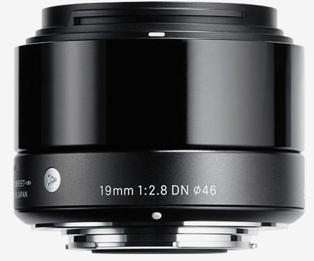 Объектив Sigma 19mm F2.8 DN будет выпускаться в вариантах для камер систем Micro Four Thirds и Sony E-mount