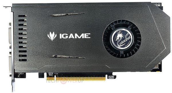 � ���� � ����� ������ ������ iGame GTX650Ti 1G Buri-Slim ������ ���