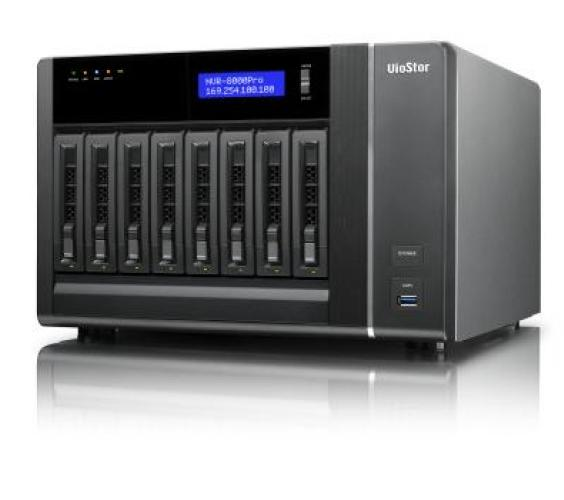 В конфигурацию QNAP VS-81xx Pro+ входит двухъядерный процессор Intel Core i3-2120 и 2 ГБ памяти DDR3