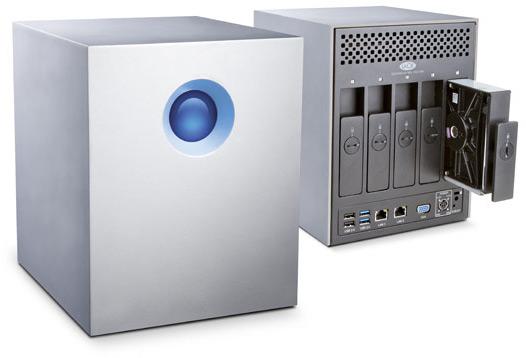 Хранилище с сетевым подключением LaCie 5big NAS Pro интегрировано с «облачным» хранилищем Wuala