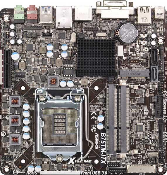 ASRock B75TM-ITX