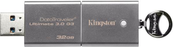 ����-���������� Kingston DataTraveler Ultimate 3.0 G3 �������� ������� 32 � 64 ��