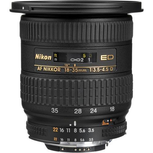 �� ����� ������ Nikon ���������� ������������� �������� Nikkor AF-S 18�35mm f/3.5�4.5G ED
