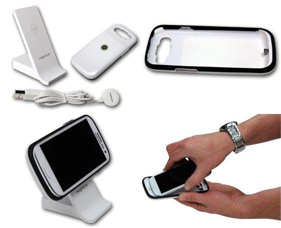 Система BuQu Tech Magnetyze, обеспечивает защиту, зарядку и синхронизацию смартфонов Samsung Galaxy S III