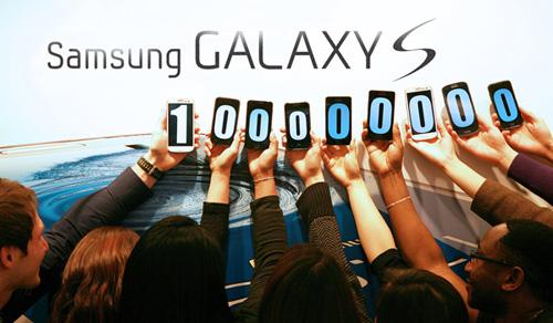 Продажи смартфонов Samsung Galaxy S превысили отметку в 100 миллионов