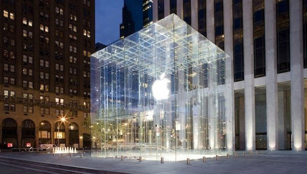 Доход Apple за один квартал составил 54,5 млрд. долларов