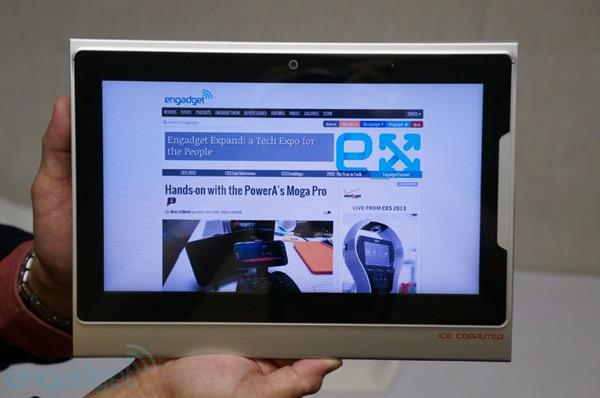 Планшет Ice Computer xPad оснащен экраном размером 9,7 дюйма по диагонали