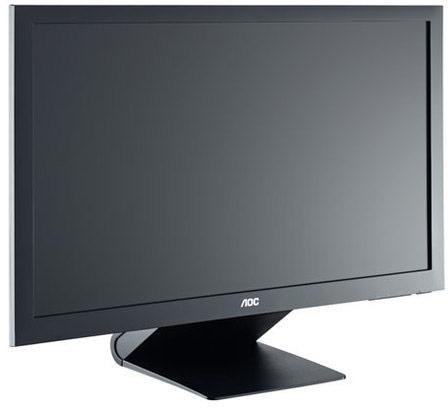 Основой AOC e2462Vwh стала панель Full HD типа TN