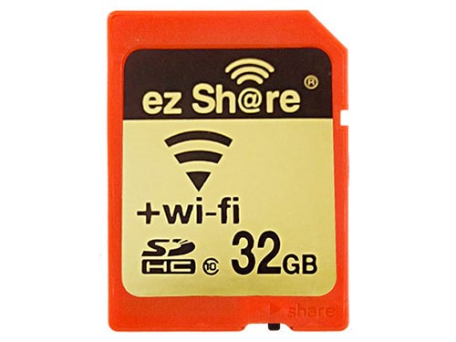 Карточки LZeal ezShare выпускаются объемом 4, 8, 16 и 32 ГБ