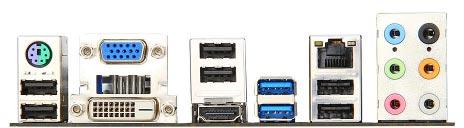 Системная плата MSI A85XMA-E35 оснащена видеовыходами DVI, D-Sub и HDMI