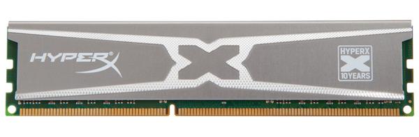 Модули Kingston HyperX 10th Anniversary Edition Memory выпускаются по одному и в наборах