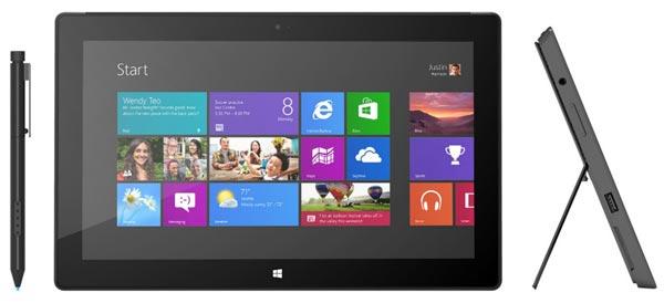 Microsoft называет дату начала продаж планшетов Surface Windows 8 Pro
