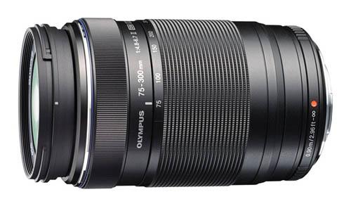 Объектив M.Zuiko Digital ED 75-300mm f/4.8-6.7 II будет выпускаться только черного цвета