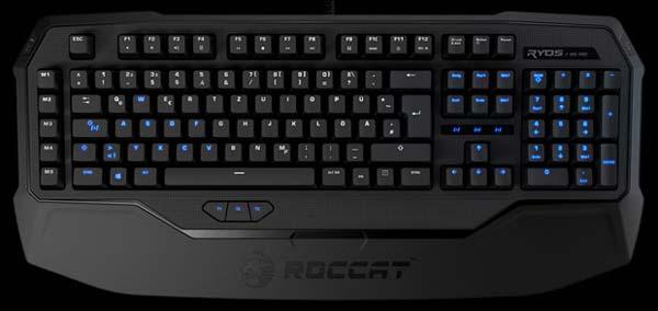 Клавиатура Ryos войдет в экспозицию Roccat на CES 2013
