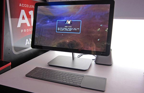 AMD объявляет о сотрудничестве с VIZIO и показывает возможности Surround Computing