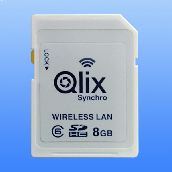 Карточка памяти Qlix QlixSynchro Class 6 объемом 8 ГБ стоит примерно $66