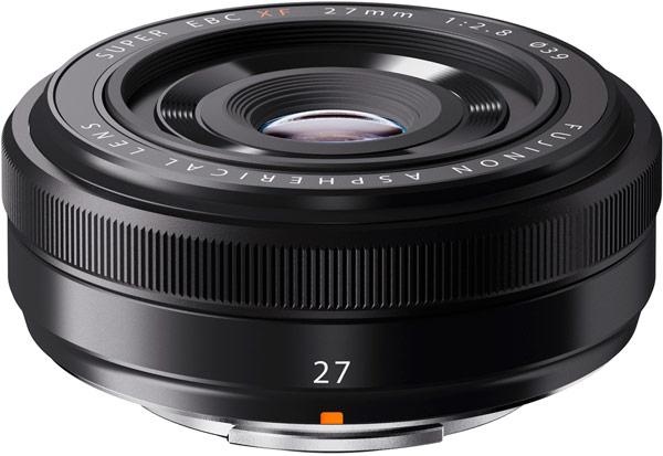 Объективы Fujinon XF27mmF2.8 будут доступны в двух цветовых вариантах: серебристом и черном