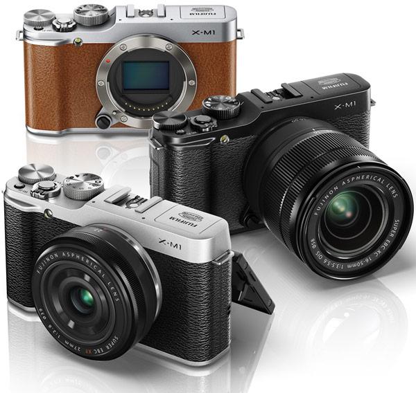 Камера Fujifilm X-M1 формата APS-C рассчитана на сменные объективы X Mount