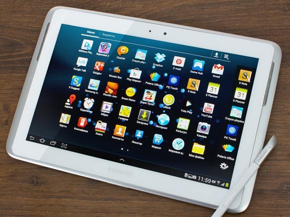 Samsung готовит планшет 12,2 дюйма