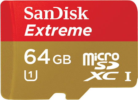 �������� SanDisk Extreme microSDHC � microSDXC UHS-I ����� ���������������, ������������ ����������