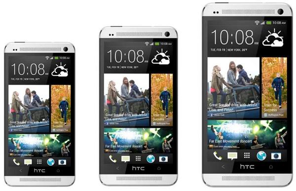 HTC One Max станет самым крупным представителем семейства One
