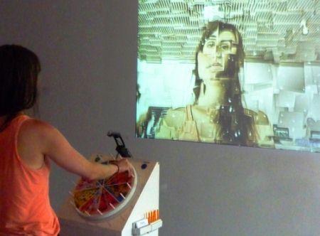 Колесо «Dial-A-Style», алгоритмический генератор автопортретов