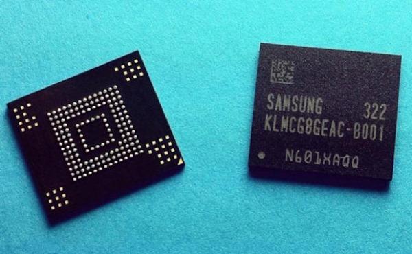 Samsung NAND (eMMC v5.0)