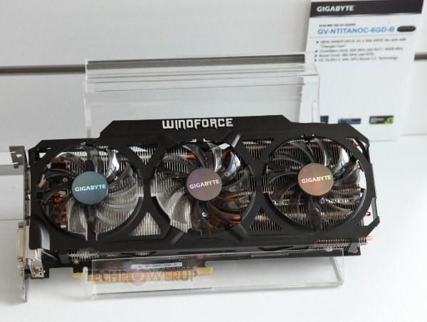 Gigabyte Titan WindForce 3X 450W