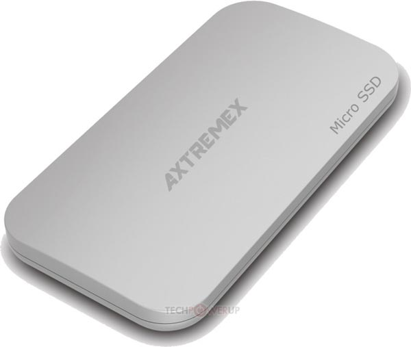 ������������ ������ ������� Axtremex MicroSSD ������� 32, 64, 128 � 256 ��