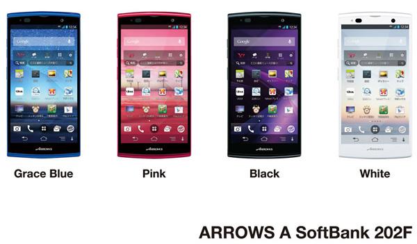 Fujitsu Arrows A 202F