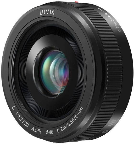 Объектив Panasonic Lumix G 20 mm / F1.7 II ASPH