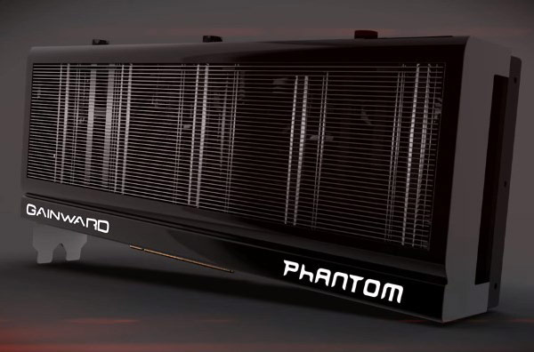 Для 3D-карты Gainward GeForce GTX 780 система охлаждения Phantom несколько доработана